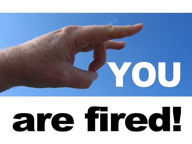 Firing employees