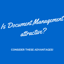 the importance of document management