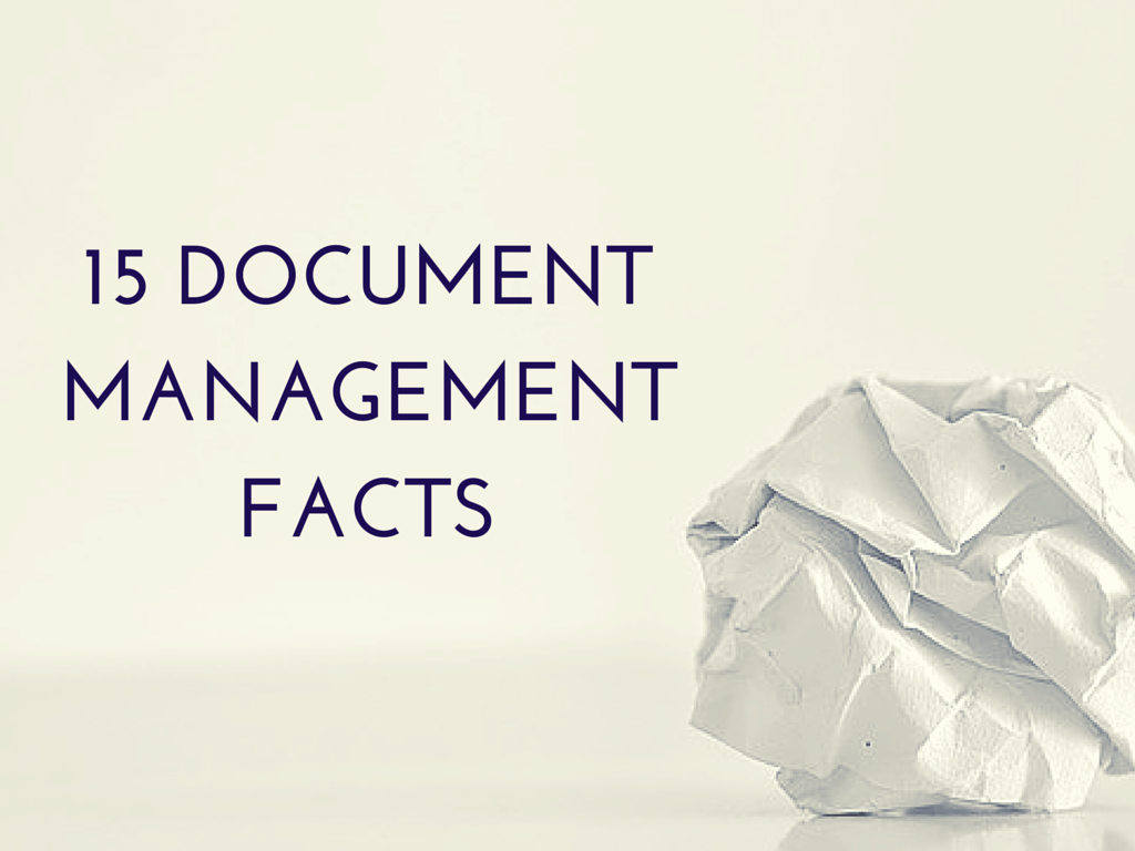 common facts about document management